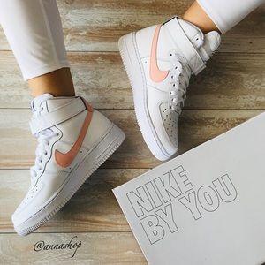 NWT Nike ID Custom Air Force 1